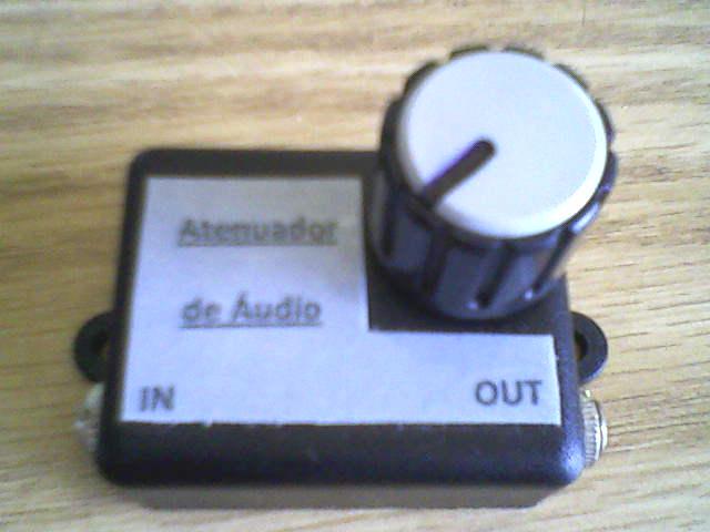 ATENUADOR DE AUDIO