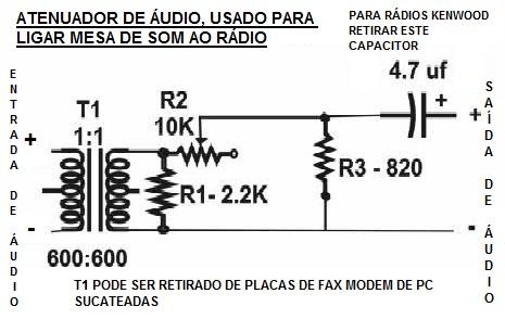 Atenuador de Áudio